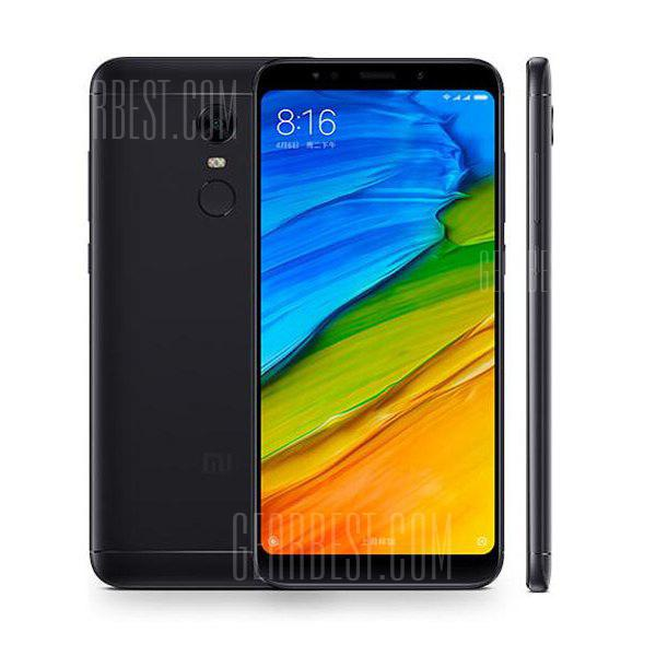 Xiaomi Redmi 5 Plus Global Version 4G Phablet - BLACK 4+64GO