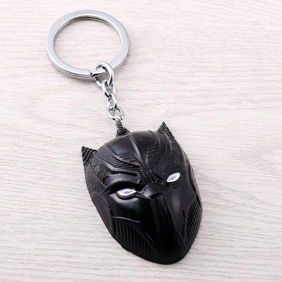 Zinc Alloy Film Element Key Ring