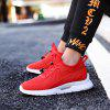 Men Outdoor Trendy Anti-slip Casual Athletic Shoes - RED