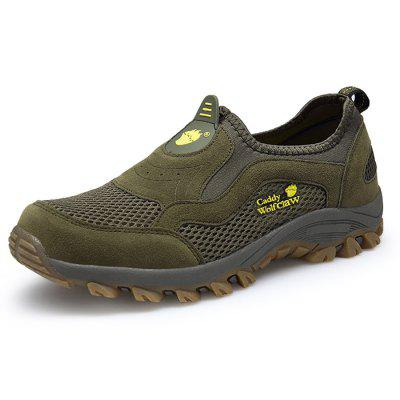 Men Outdoor Breathable Slip-OnHiking Athletic Shoes