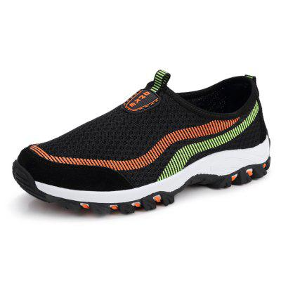 Homens elegantes respirável Slip-On Athletic Shoes