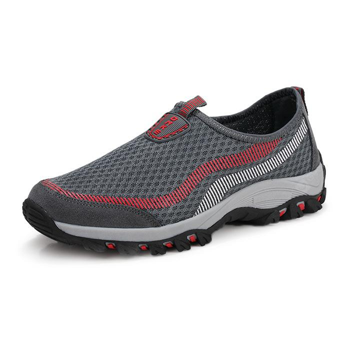 Men Stylish Breathable Slip-On Athletic Shoes