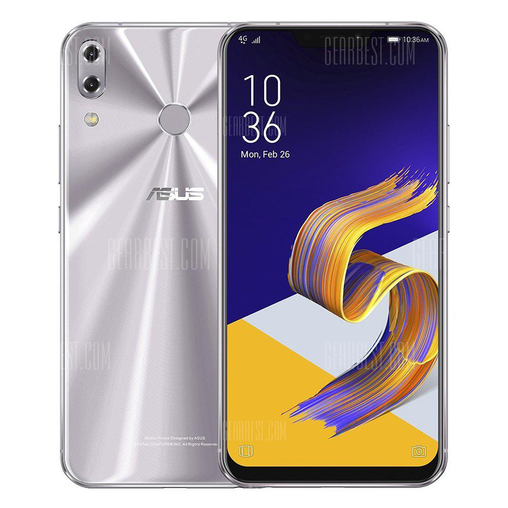 Gearbest Only $359.99 for Asus ZENFONE 5 ZE620KL 4G Phablet Global Version - SILVER  promotion