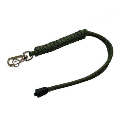 7-strand Parachute Cord Survival Rope with Keychain