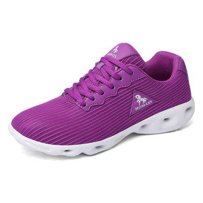 HOMASS Breathable Lightweight Athletic Shoes for Couple