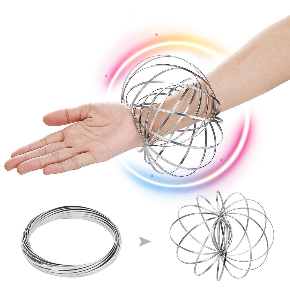 Gearbest Super Magic Flow Rings Kinetic Spring