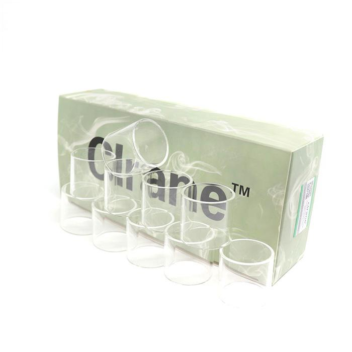 Clrane High-quality Glass Tube 10pcs
