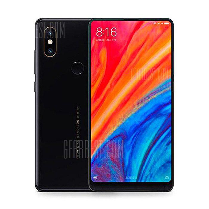 Xiaomi MI MIX 2S 4G Phablet 6GB RAM Global Version - BLACK  6+128GB