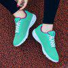 HOMASS Breathable Lightweight Athletic Shoes for Couple - BLUE GREEN