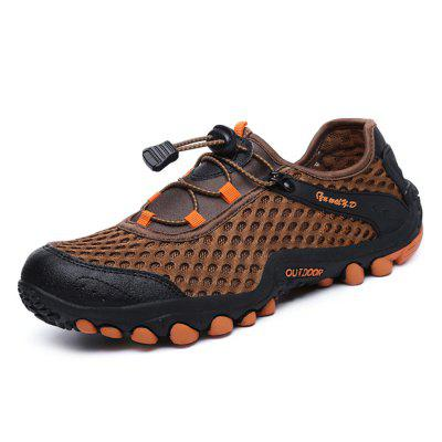 Men Stylish Outdoor Breathable Athletic Shoes