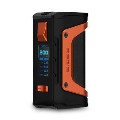 Geekvape Aegis Legend Mod 200W - BLACK AND ORANGE