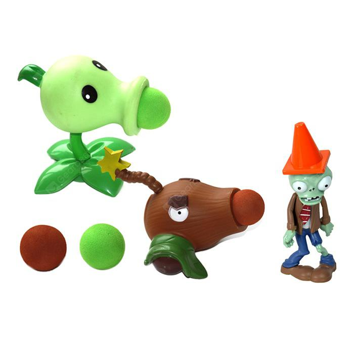 WUIBN Plant Fighters Ghost Kids Model Toy Desktop Ornament