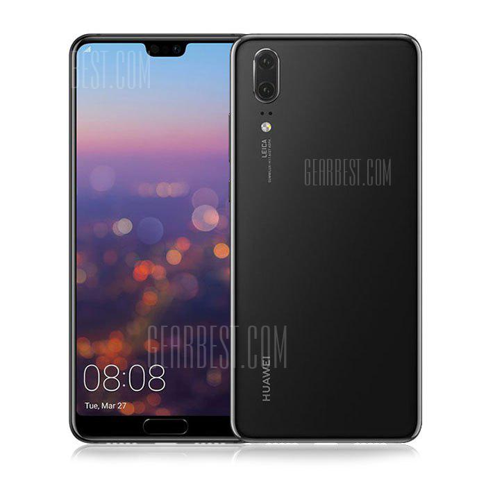 HUAWEI P20 4G Phablet Global Version - BLACK  4+128