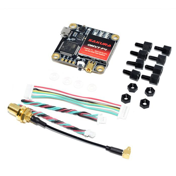 OMVT F4 Flight Controller + Video Transmitter Set