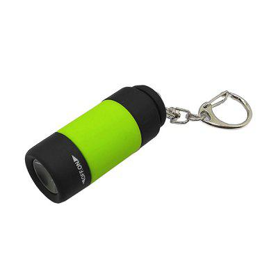 Mini akumulator Portable Keychain Light LED Flashlight