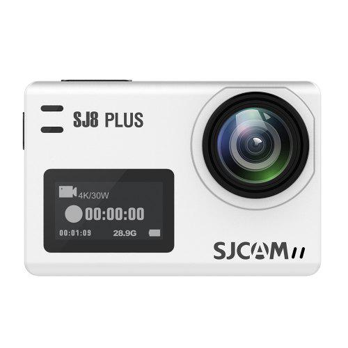 Gearbest SJCAM SJ8 Plus Native Dual Screen WiFi Action Camera - WHITE Dual Screen / NTK96683 Chipset / Support RF 2.4G Remote Control