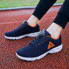 HOMASS Lightweight Breathable Sports Shoes for Couple - MIDNIGHT BLUE