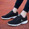 HOMASS Lightweight Breathable Sports Shoes for Couple - BLACK