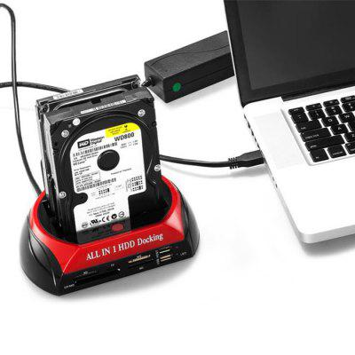 Refurbished 875 SATA + IDE Dual Slots All-in-one HDD Docking Station