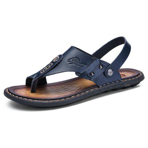 discount sale get cheap sleek Men Leisure Outdoor Dual-use Flip-flops Sandals Sale, Price ...