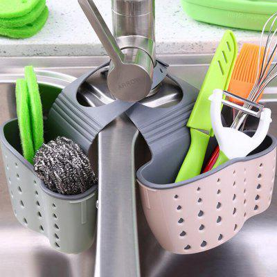 kitchen sponge holder storage basket 1pc - Kitchen Sponge Holder