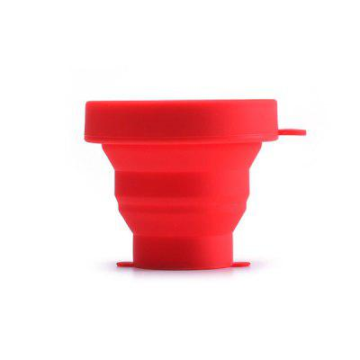 Outdoor Sports Portable Silicone 190ml Folding Cups