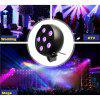9W 3 in 1 LED Stage Light - BLACK
