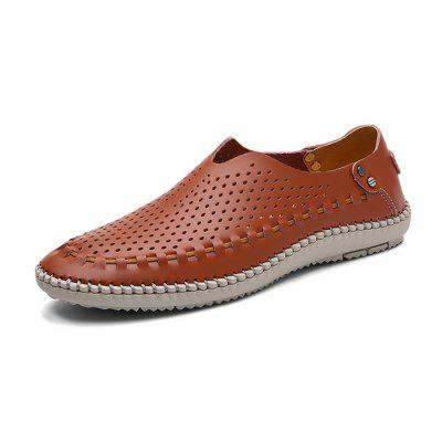 Male Breathable Casual Slip-on Loafer Shoes