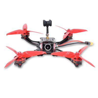 RED HARE 215mm FPV RC Drone - BNF Carbon Fiber Material