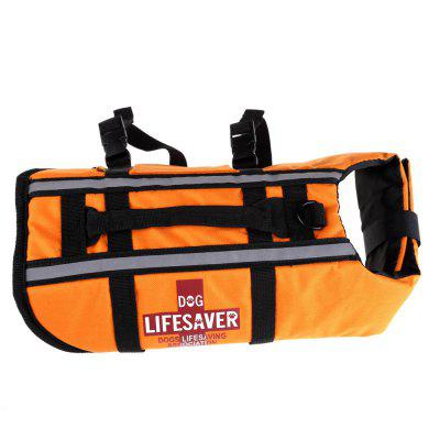 Dog Lifejacket Reflective Swimming Float Vest