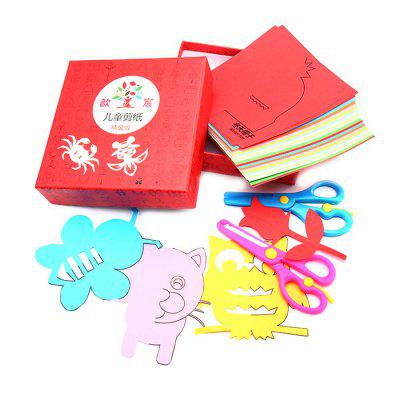 Child Paper Cutting Toy Handmade DIY Creation 120pcs