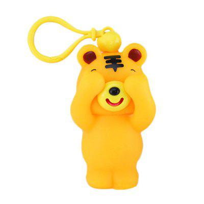 Novelty Squeeze Cover Eyes Língua Out Fun Stress Relief Toy