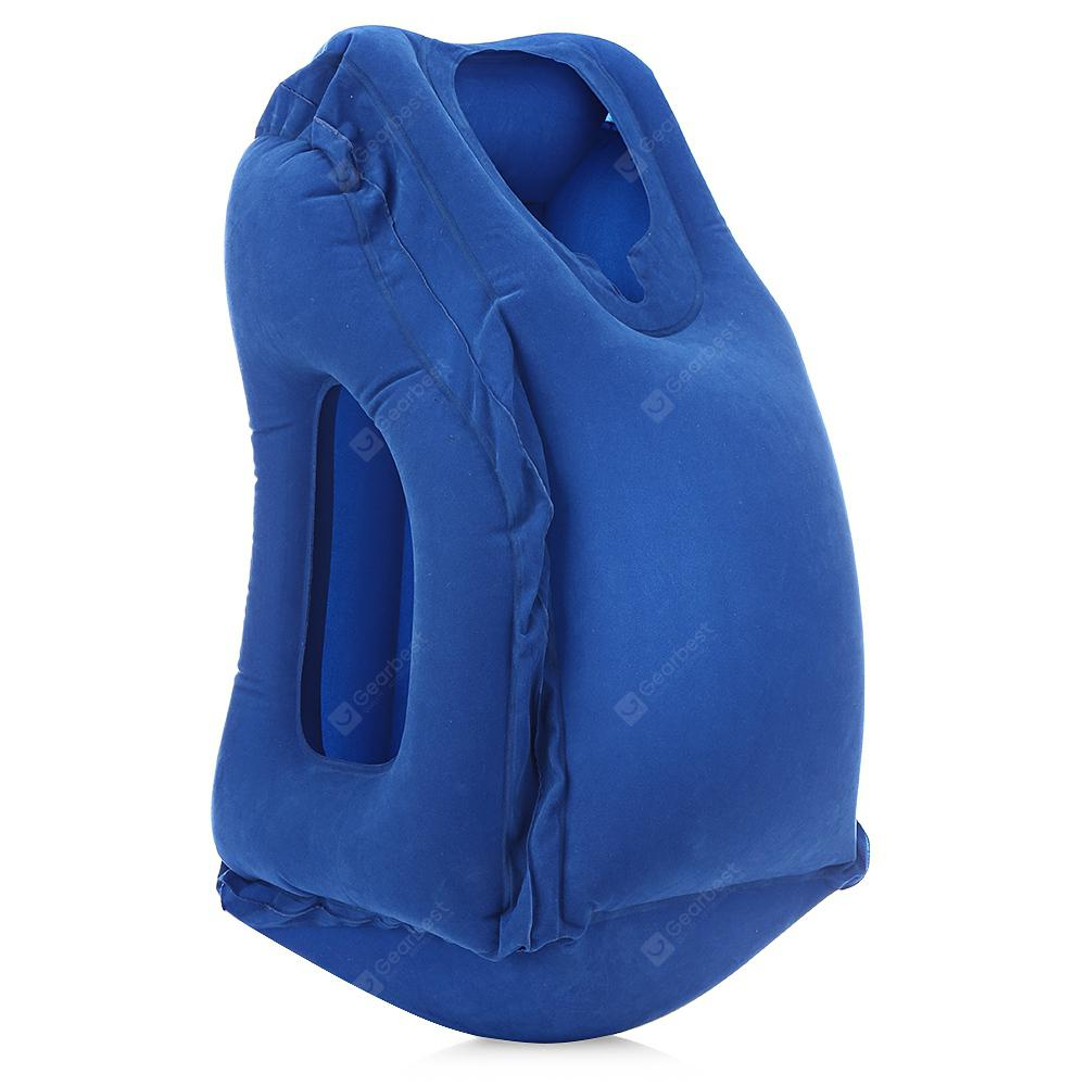 Outdoor Comfortable Inflatable Travel Neck Pillow