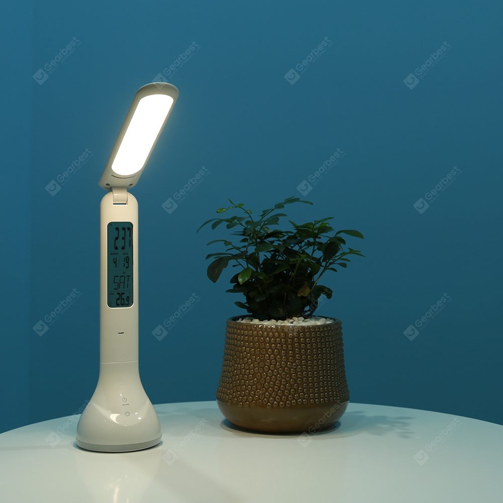 Utorch Q2 Multifunctional Rechargeable LED Desk Lamp - WHITE в магазине GearBest