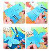 Child Paper Cutting Toy Handmade DIY Creation 120pcs - MULTI