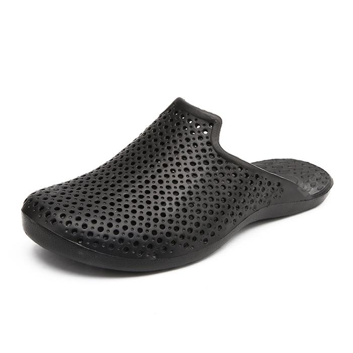 Male Plus Size Hollow-out Beach Slipper