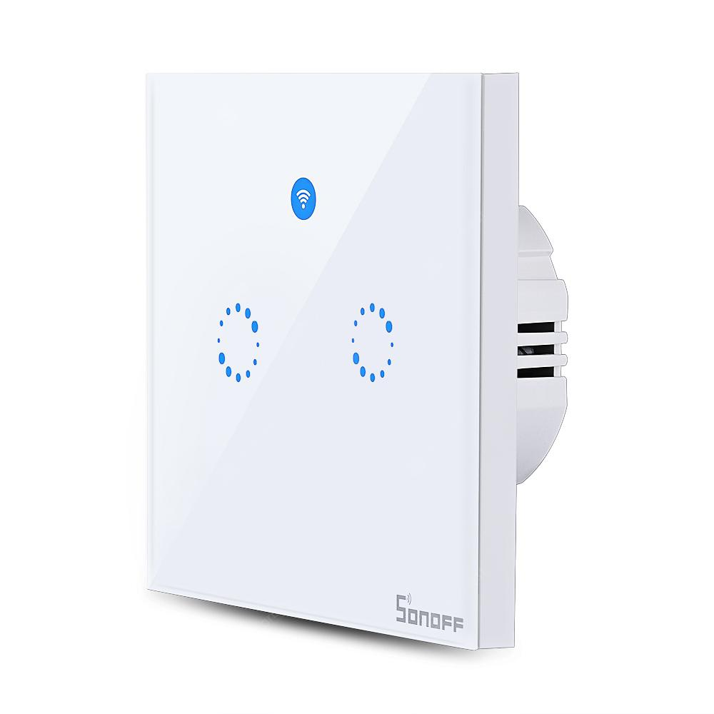 SONOFF T1 Double Gangs Smart Wall Touch Switch with RF