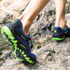 Men Trendy Outdoor Breathable Anti-slip Casual Shoes - BLUE