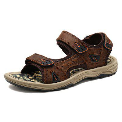 Casual Beach Magical Tape Sport Sandals for Men