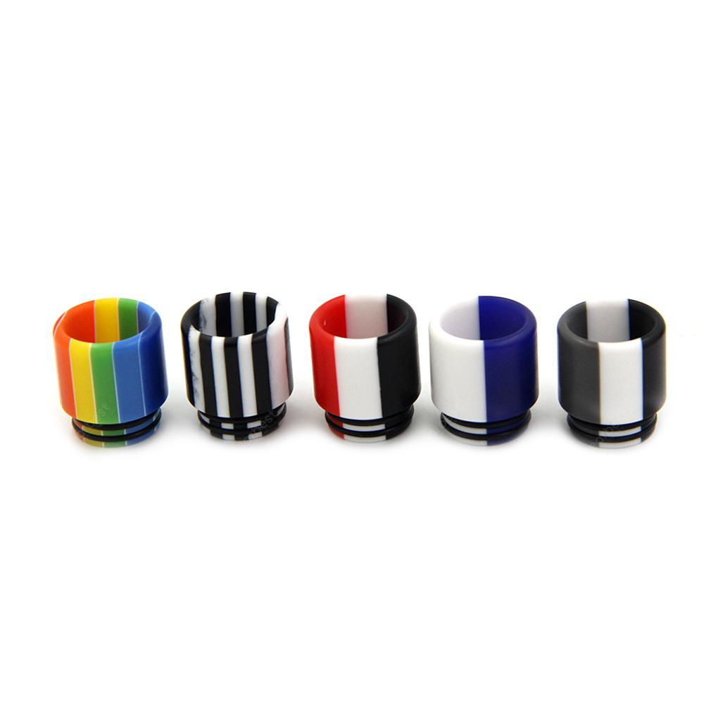 Colorful 510 Resin Drip Tip 5pcs