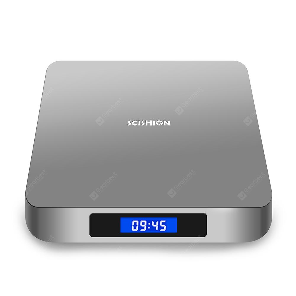 Gearbest SCISHION AI ONE Android 8.1 TV Box (RK3328, 4+32GB)