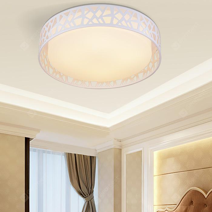 PZE - 1118SLF - XDD Smart Voice Control LED Ceiling Light - WHITE DIAMETER 380MM