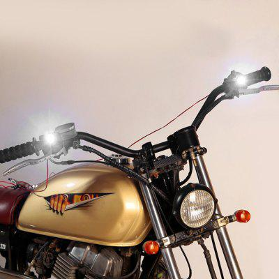 YKT - AB234 Rearview Mirror Headlight for Motorcycle 2pcs