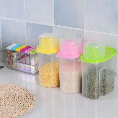 Multifunction Sealed 2.5L Storage Jar 1pc