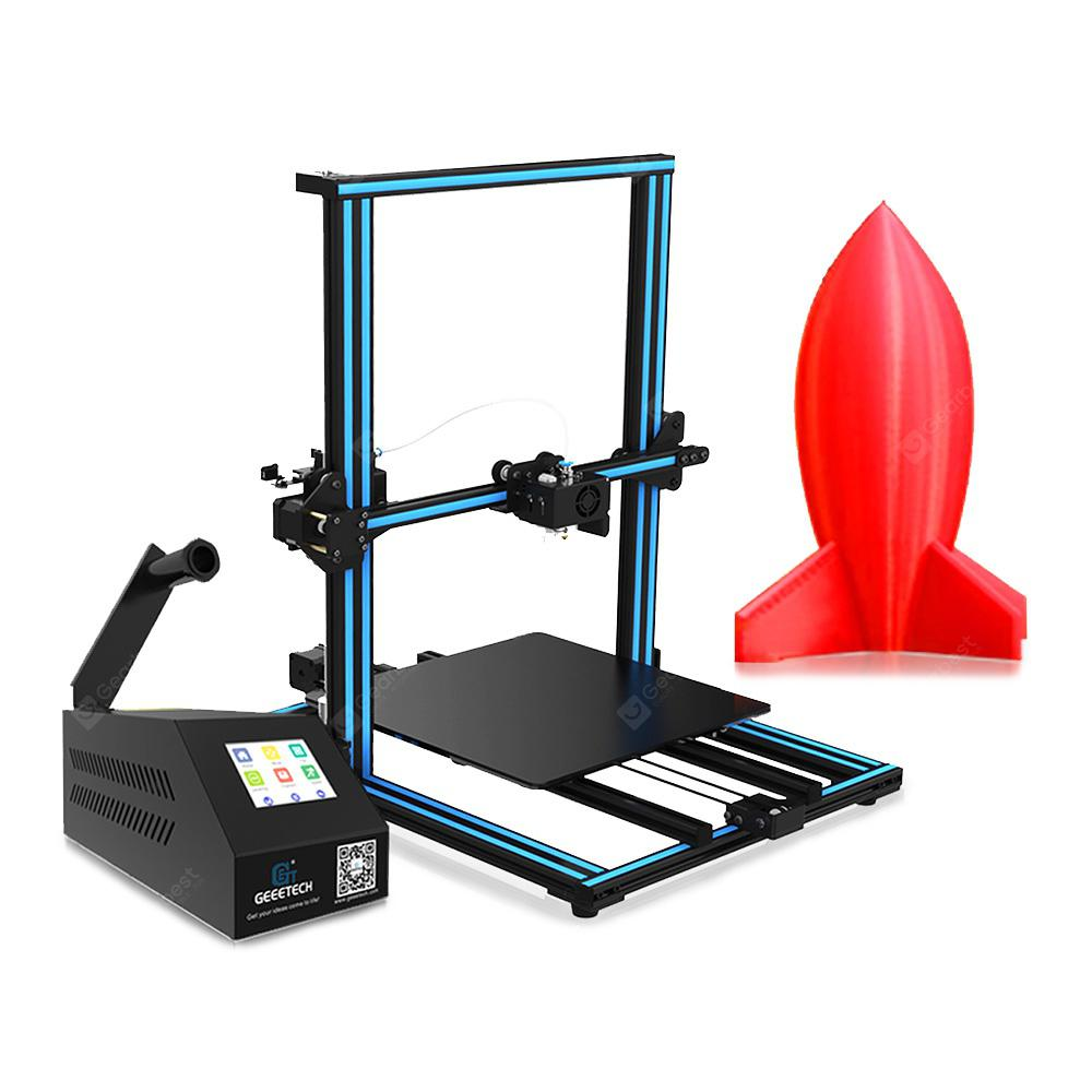 Geeetech A30 Aluminum Profile Desktop 3D Printer - Blue Eyes EU Plug
