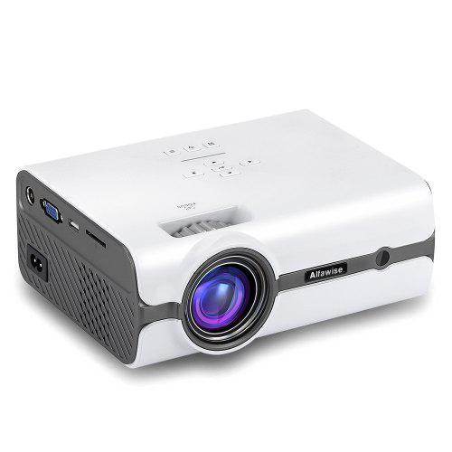 Alfawise A11 LCD 2000 Lumens Home Theater Mini Projector - White US Plug (Android OS) в магазине GearBest