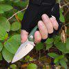Sanrenmu S625 EDC Straight Fixed Blade Knife - CAMOUFLAGE GREEN