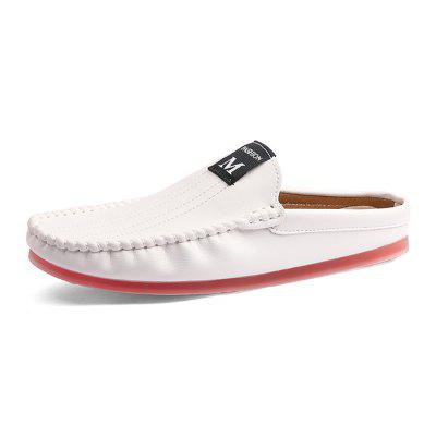 Comfortable Leather Slipper Casual Loafer Shoes for Men