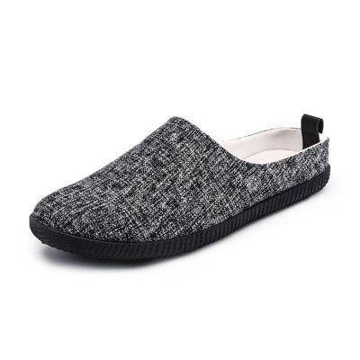 Male Breathable Slip-on Slipper Flat Shoes
