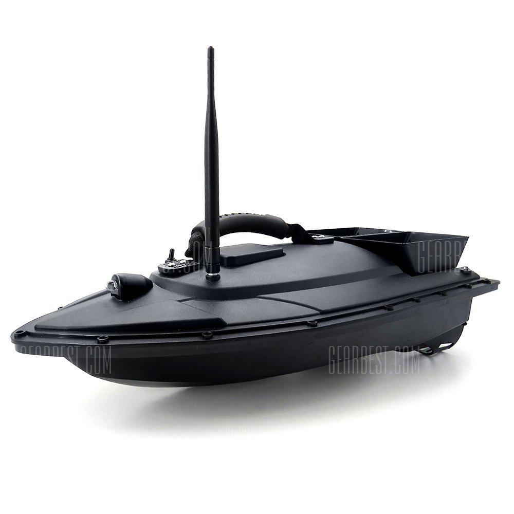 Flytec 2011 - 5 Smart RC Fishing Bait Boat Toy for Kids Adults - BLACK